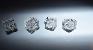 ice cubes , commercial photography