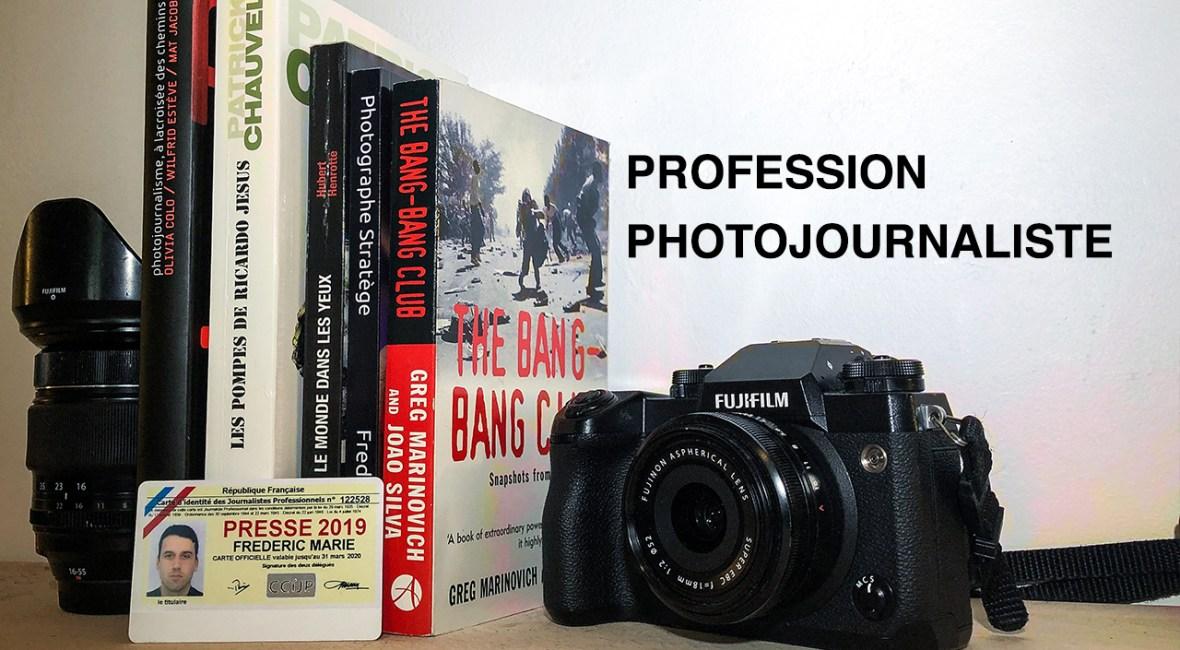 bannière profession photojournaliste