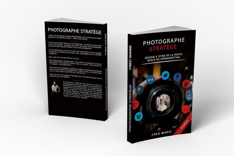 Livre Photographe Stratège 2ème édition - Fred Marie