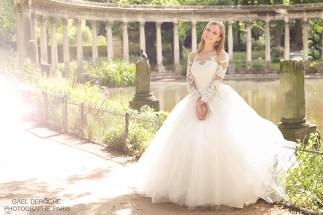 Photographe de mariage Paris, haut de gamme, photo en exterieur parc