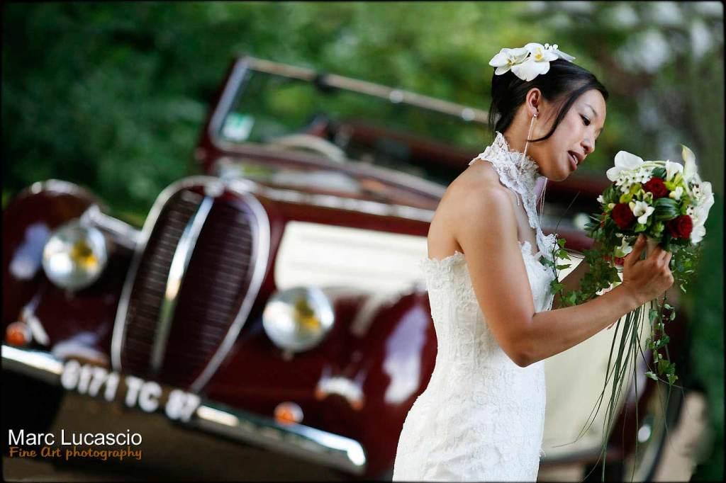 Artiste photographe mariage original