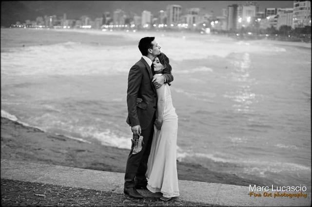 mariés amoureux Ipanema rio de Janeiro