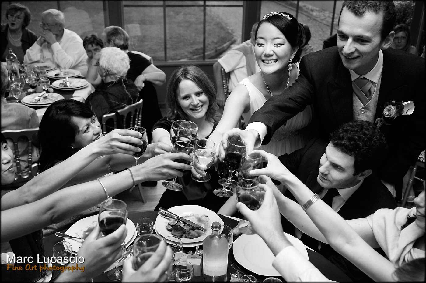 cocktail témoins et mariés