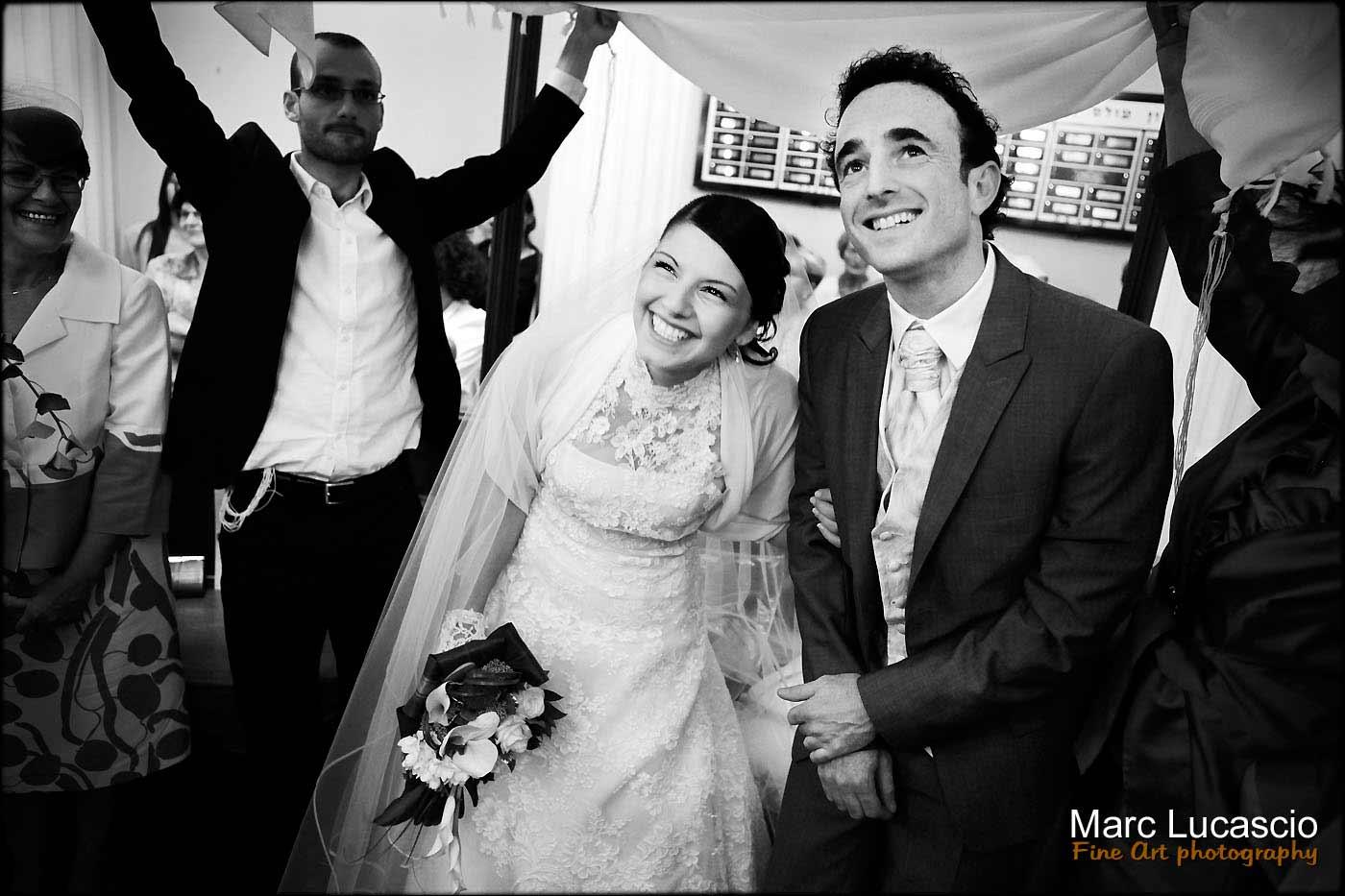 Mariage juif synagogue