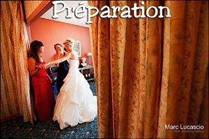 photos mariage préparation
