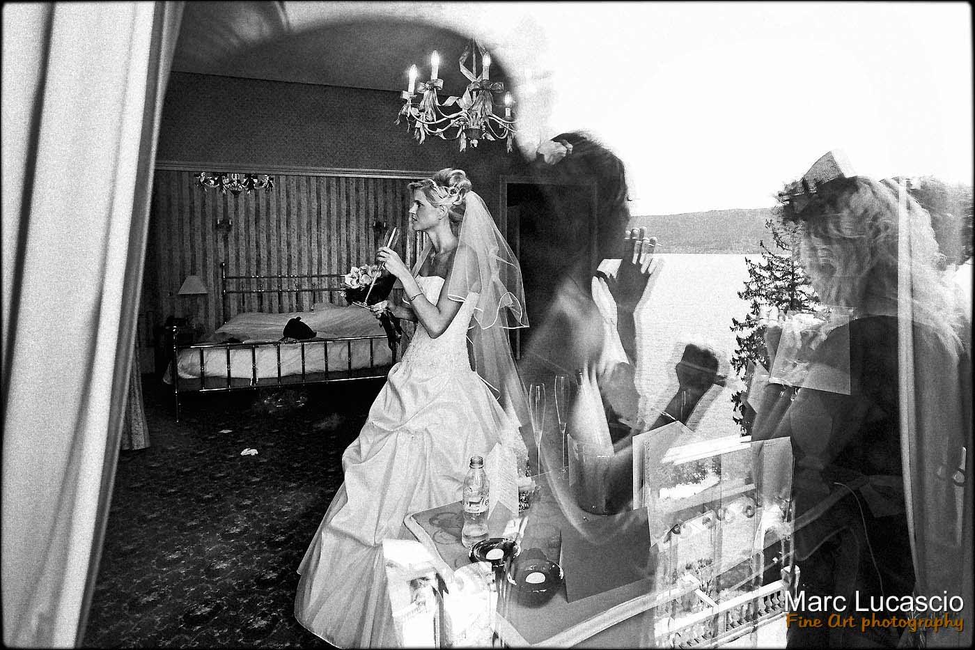 Préparation du mariage Menthon palace Annecy
