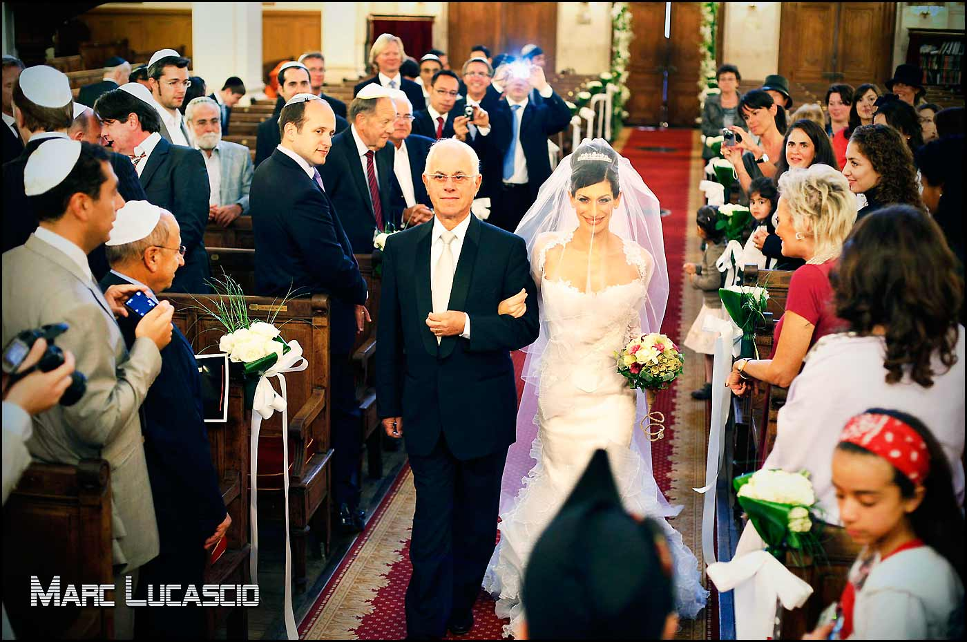 mariage juif dans la synagogue