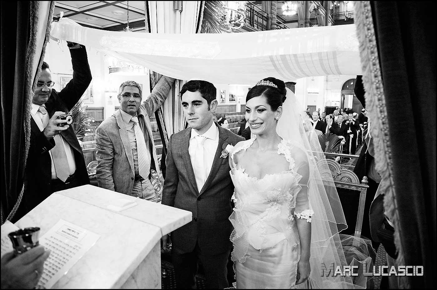 Birkat ha-iroussin mariage juif