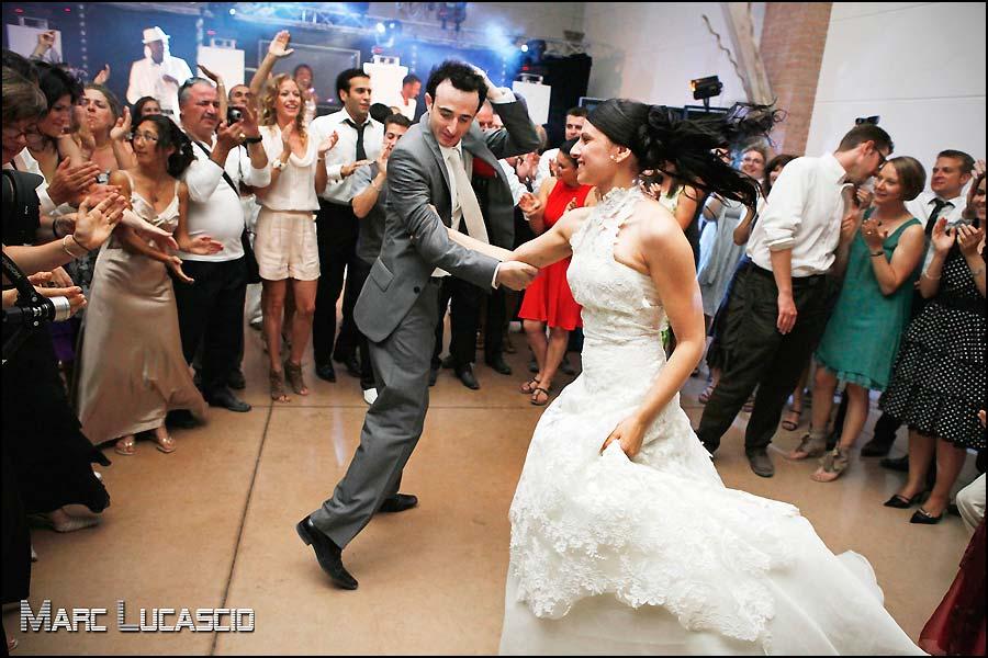 Piste de danse mariage festif