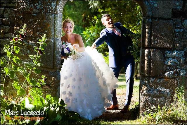 portrait couple mariage Normandie