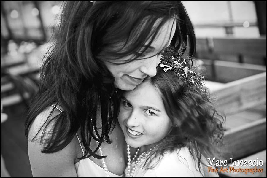 photographie des enfants lors d'un mariage