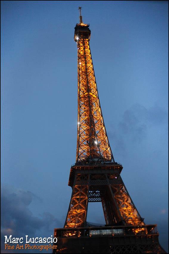 photos de mariage à la tour Eiffel