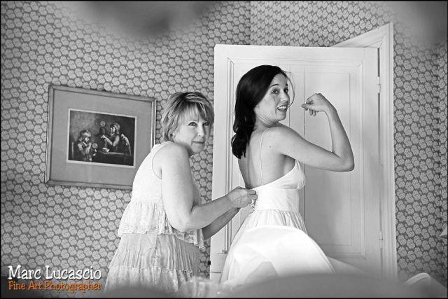 Photos de mariage préparation Giverny