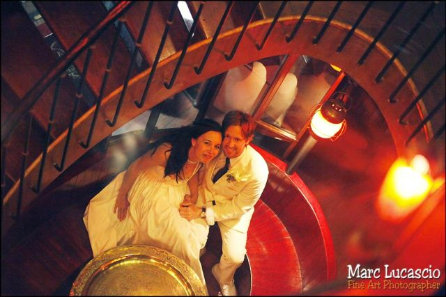 Photo mariage dans la péniche à Paris
