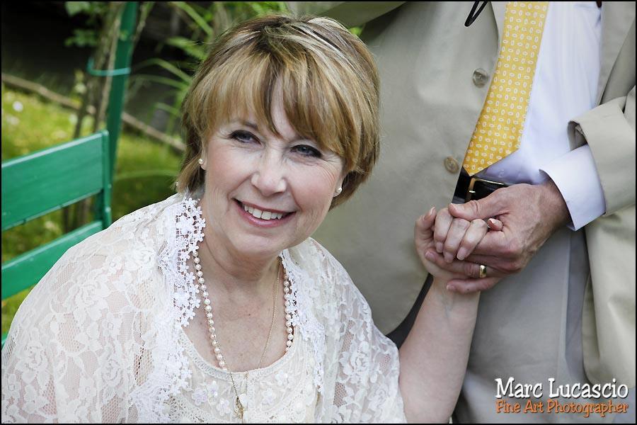 La mère de la mariée à Giverny