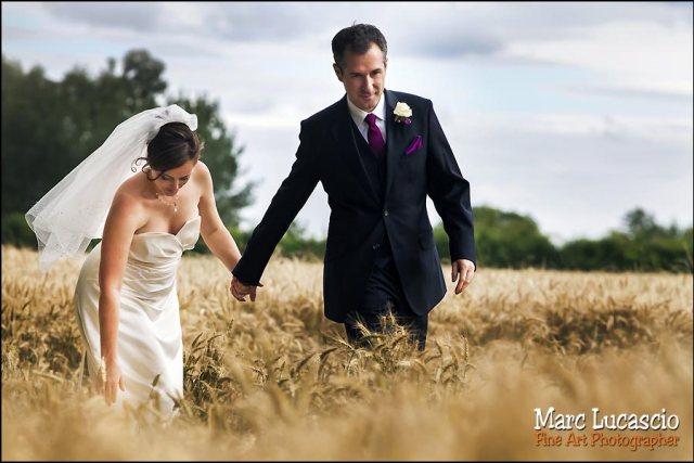 photo couple juif dans les blés