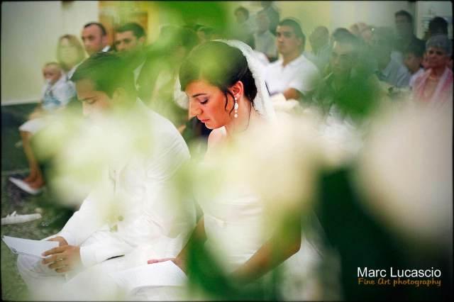 Mariage dans une église catholique