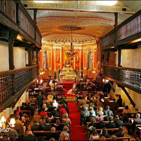 Mariage à l'église d'arcangues