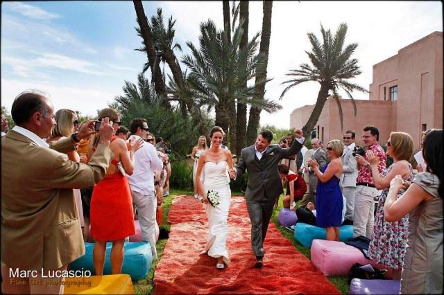 Cérémonie de mariage à Marrakech
