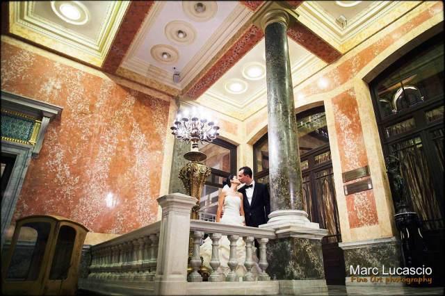 Mariage au Pera Palace à Istanbul