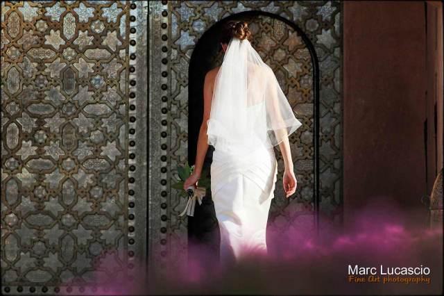 Belle mariee à marrakech