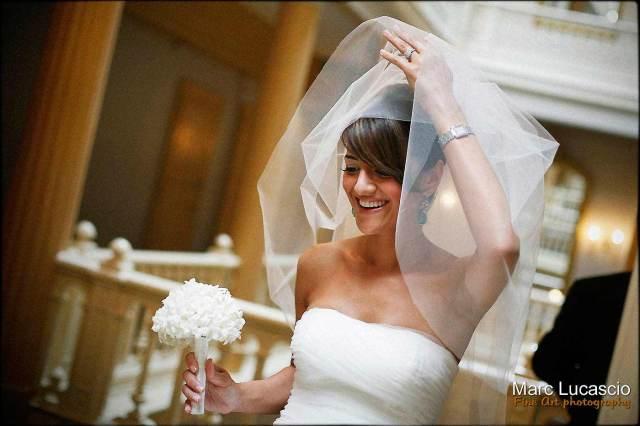 Mariage à l'hotel des 3 couronnes à vevey en Suisse