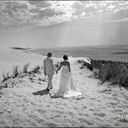 Mariage à la dune du Pyla au Bassin d'Arcachon