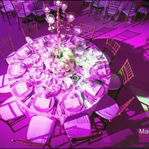 Photo selection décoration du mariage