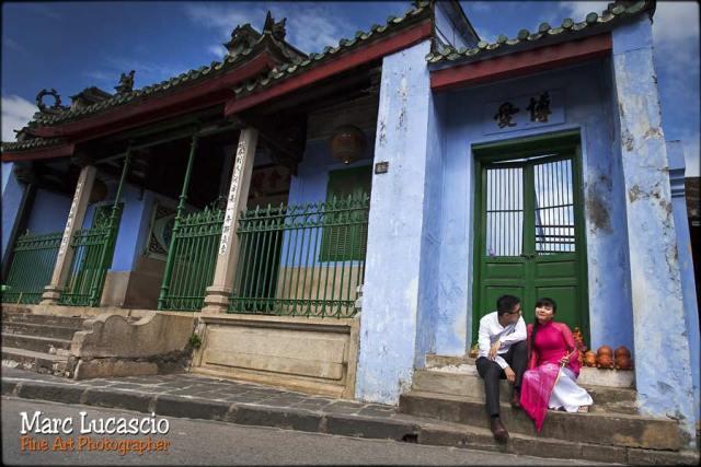 bouddhiste photo mariage Vietnam hoi an
