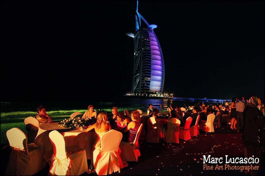 photos mariage Dubaï Burj al Arab