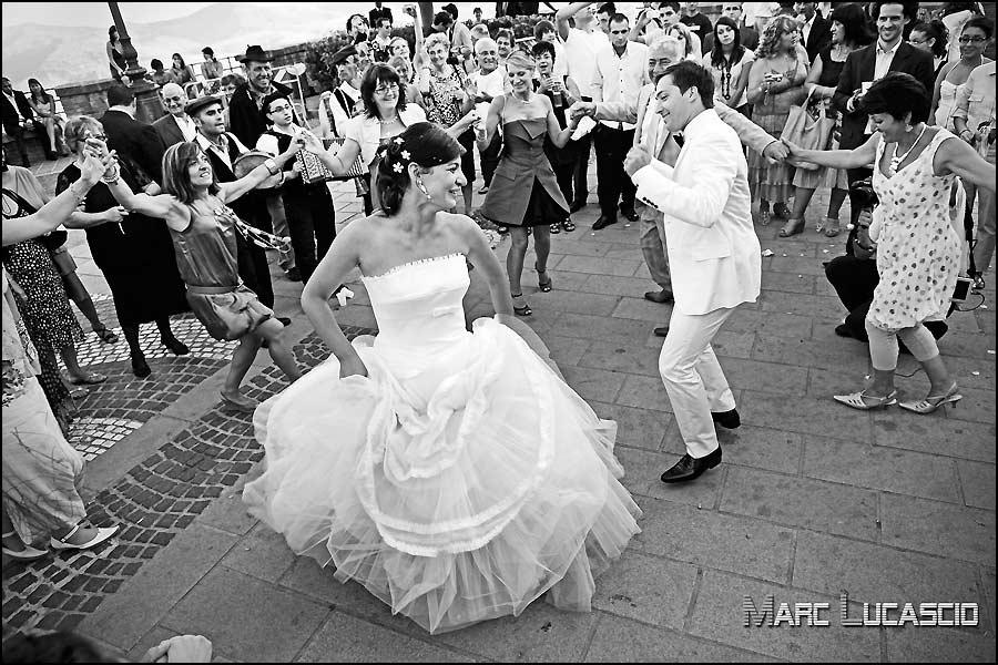 Folklore italien photo des mariées