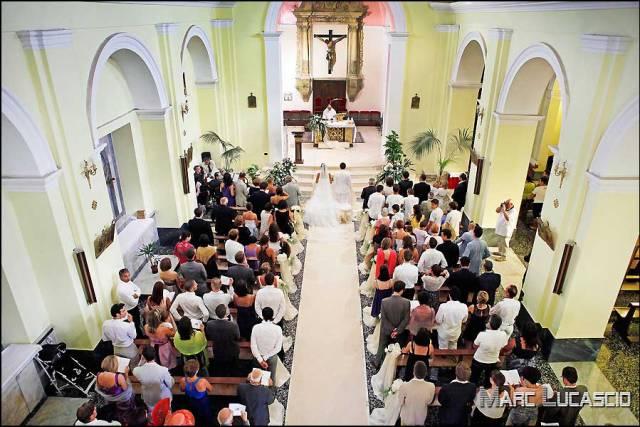 Cérémonie religieuse en Italie