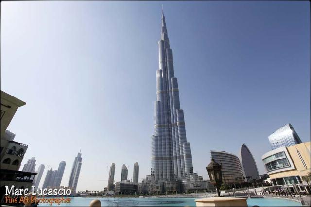 Burj Khalifa photographe mariage Dubaï
