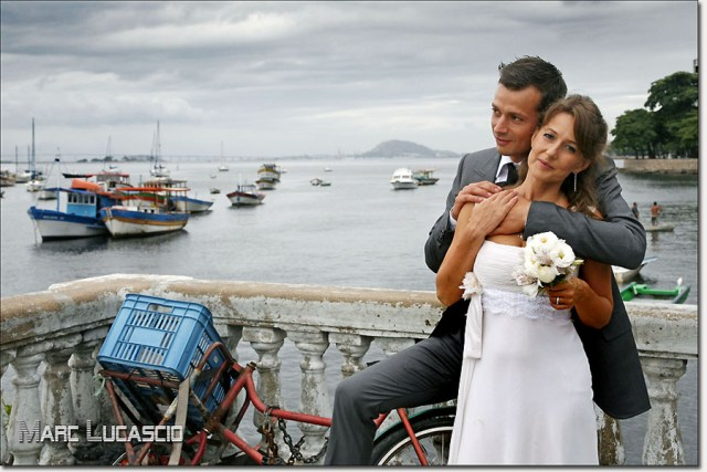 Les photos du mariage à Rio de Janeiro au Brésil