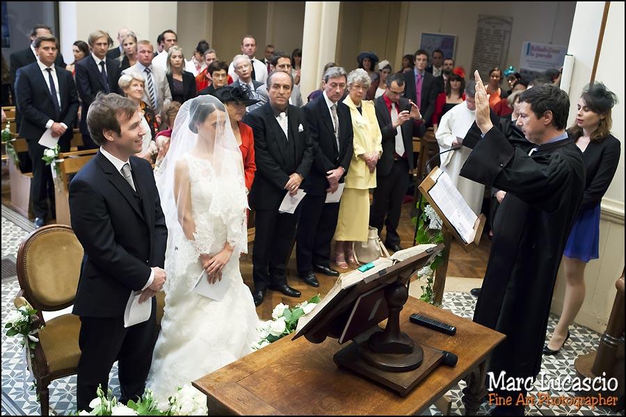 Mariage église réformée de Versailles