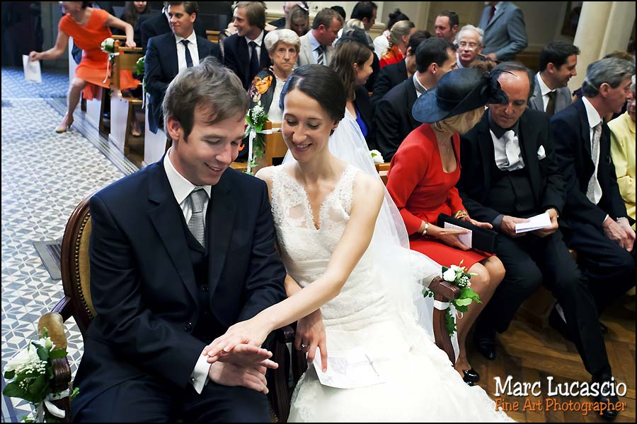 alliances mariage église réformée de Versailles