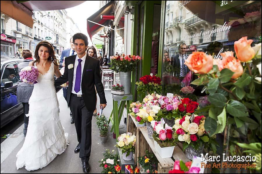 mariage paris photo couple