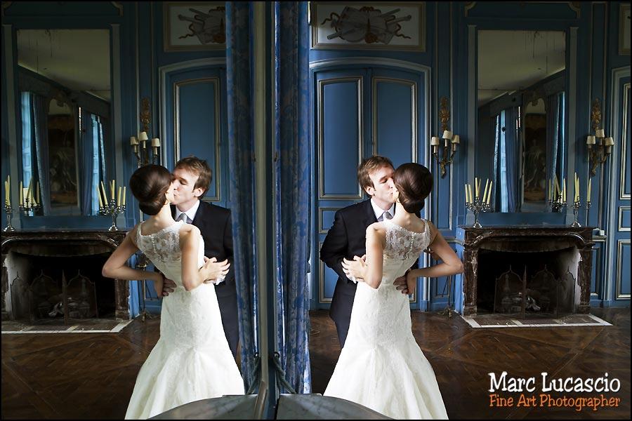 couple mariage château de Neuville