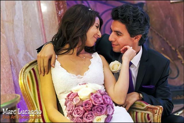 photo de mariage aux salons hoche paris