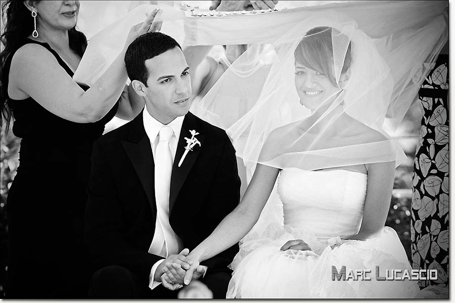 Mariage à Vevey à l'hôtel des Trois Couronnes