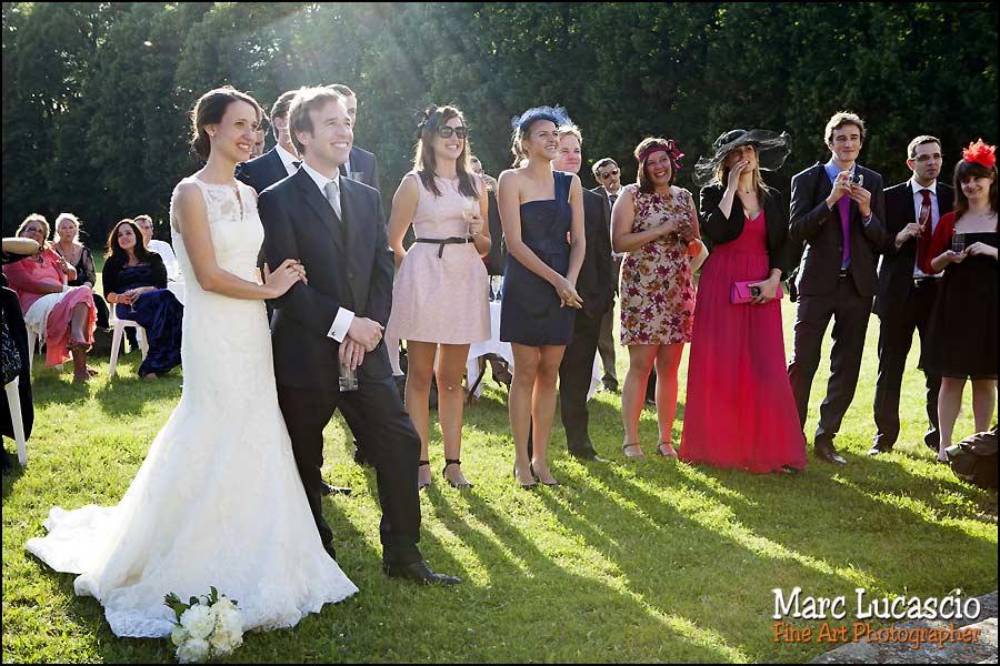 photo mariage cocktail chateau de neuville