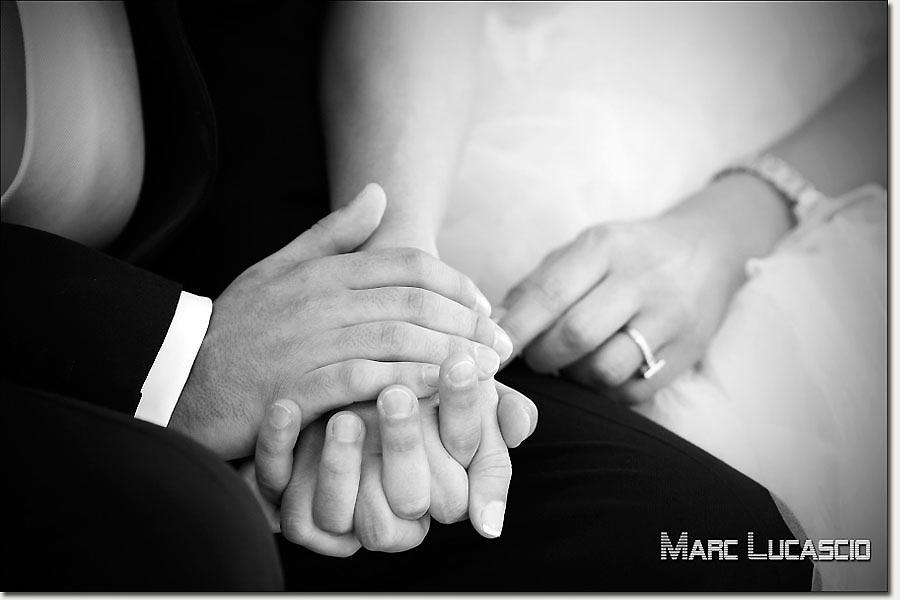 Mariage à Genève pendant la cérémonie