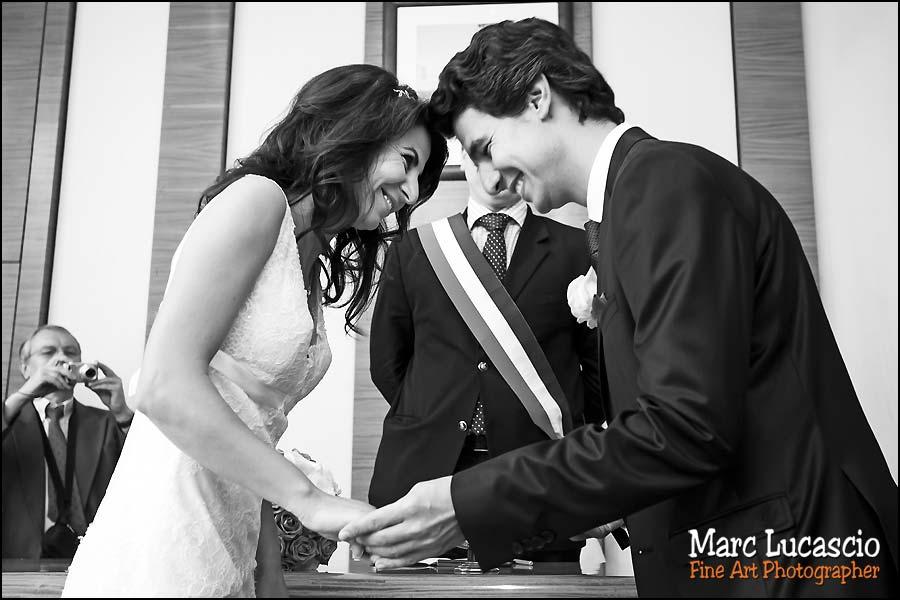 mariage hôtel de ville du 17 eme à Paris