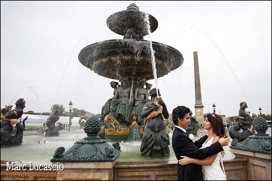 photographe mariage couple place de la concorde paris