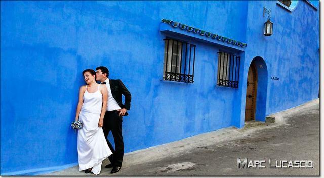Photo tanger bleu Majorelle