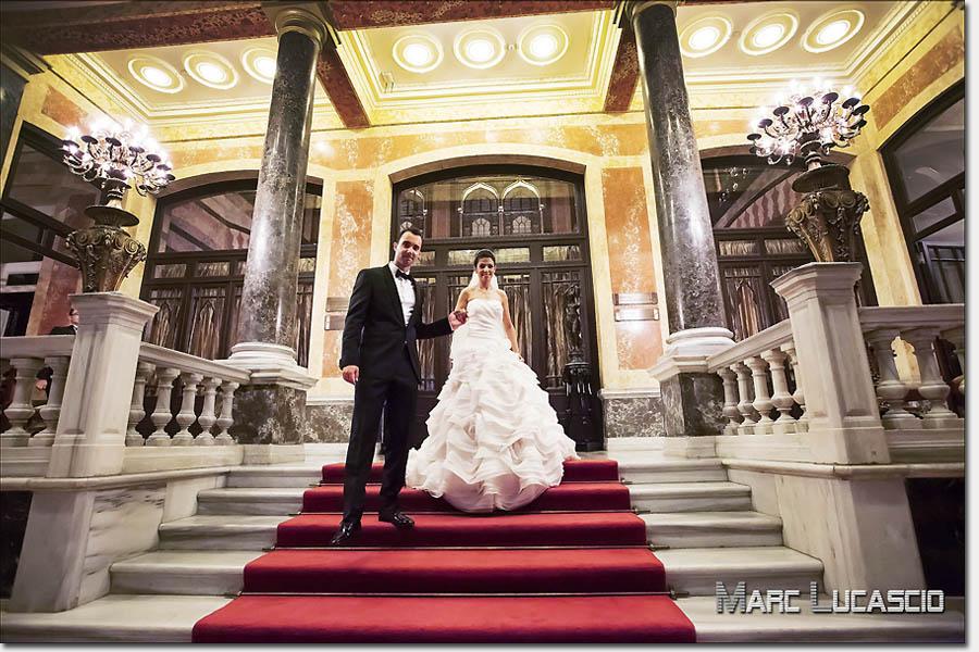 Pera Palace photo de couple mariage