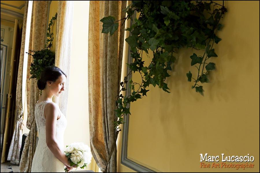 photo artistique mariage château de Neuville