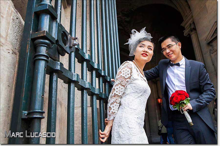 Pre wedding à Paris