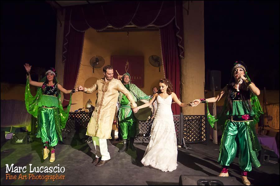 animation danseurs mariage bab al shams