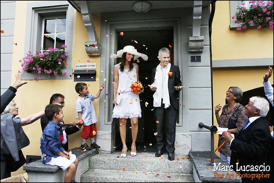 cully maison jaune mariage suisse